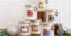 Eco Candle Labels